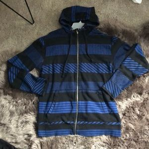 Volcom blue/black jacket